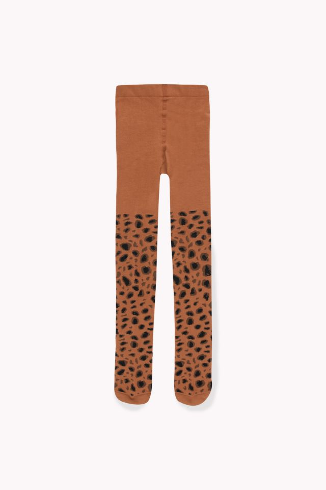 Animal Pattern Tights brown/dark brown