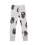 Beau LOves - Pantalón slim Love Hands - gris claro