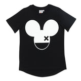 Beau LOves - camiseta Mouse X  - negro tinta