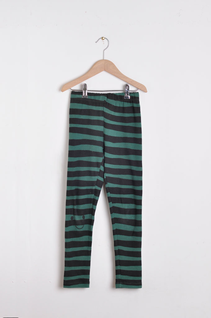 Leggins Zebra Green by Nadadelazos