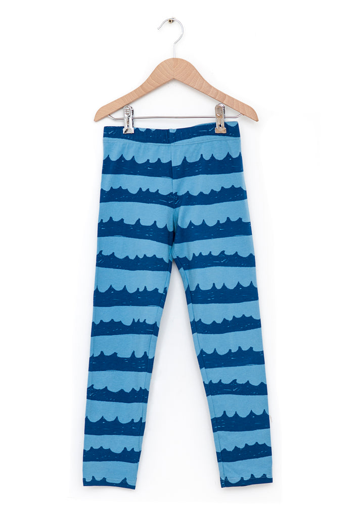 Legging SEA WAVES in BLUE de Nadadelazos