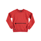 Sudadera Monster Zipper Sweat Red