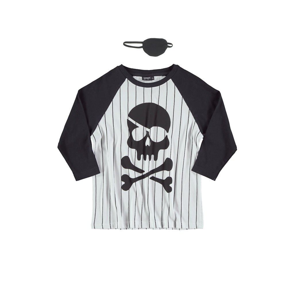 Camiseta Pirate  Tee baseball stripes by Yporqué