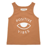 Tanktop Positive Vibes - Lion de Little Indians