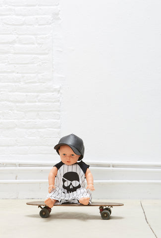 Pirat baby overall basebal by Yporque