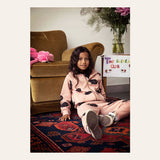 Guinea Pig Sweatpants pink by Mini Rodini