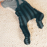 Footie 'Painted stripe' by Sproet & Sprout