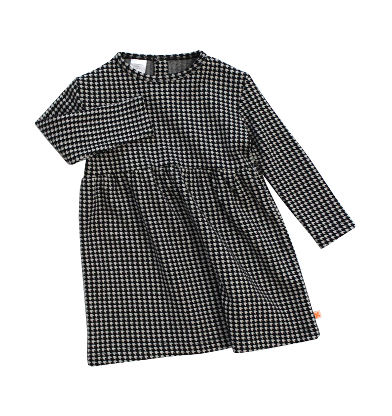 Tinycottons - vestido Easy Houndstooth