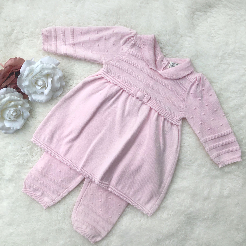 Pink long sleeve 2 piece