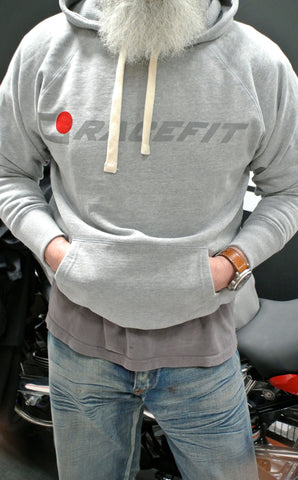 LEGEND Hooded Sweatshirt Grey