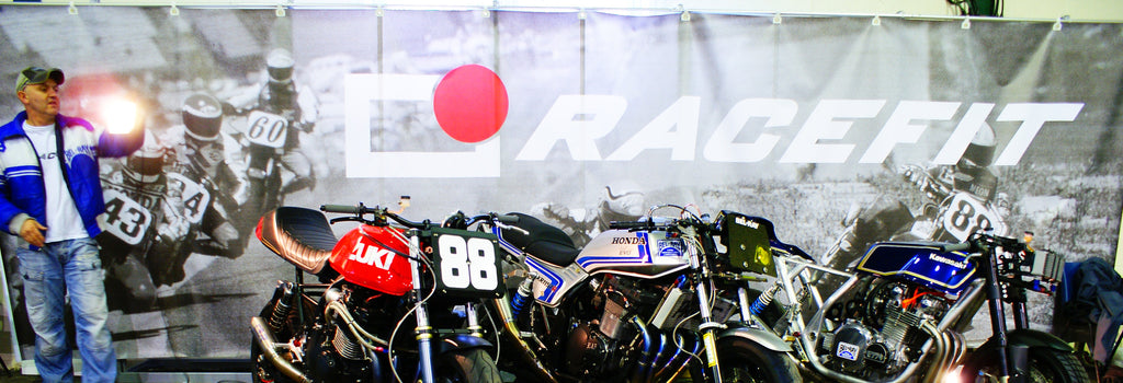 Racefit Superbike Banner (our stand back-drop)