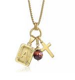 Charmed Initial Charm Necklace