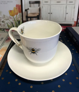 Bees Teacup and Saucer