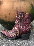 "Old Gringo Amber Short Boot 7"" Red BL 3104-3"