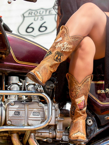 Old Gringo Route 66 Boot -L3056
