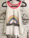 GOOD VIBES RAINBOW TANK BY PHIL LOVE