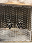 PJE ROSE BUD EARRINGS SILVER