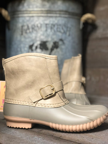 AVANTI SAMBA BUCKLE DUCK BOOT RAINBOOT