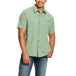 ARIAT MEN'S TEK SOLITUDE SS STRETCH CLASSIC FIT SHIRT