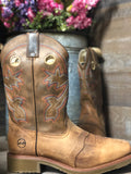 Double H Non-Metallic Wide Square Toe Work Western Boot- DH5134