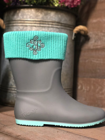 AVANTI STORM RAINBOOT WITH KNIT CUFF