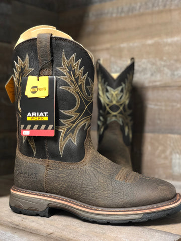 Ariat WorkHog Wide Square Toe H20 Work Boot 10017436