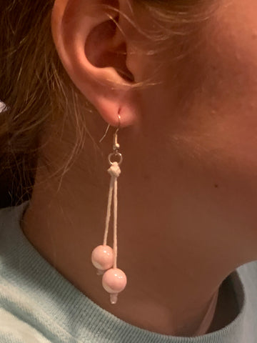 Irredentist Pearl Drop Earrings By Bead All About It