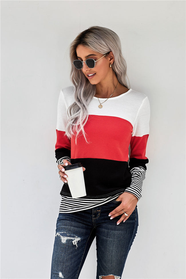 Color Block Tunic - aheadofthecurve-gifts