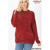 Chenille Sweater - aheadofthecurve-gifts