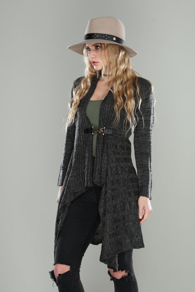 Sweater Knit Jacket - aheadofthecurve-gifts