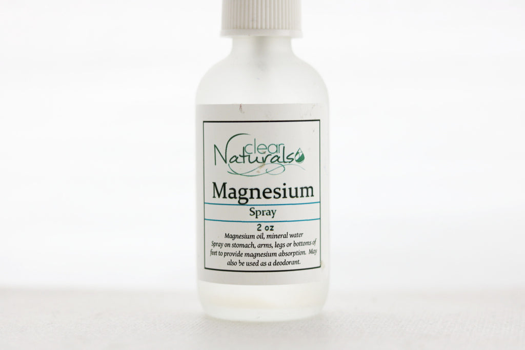 Magnesium Oil Spray - Clear Naturals - 2