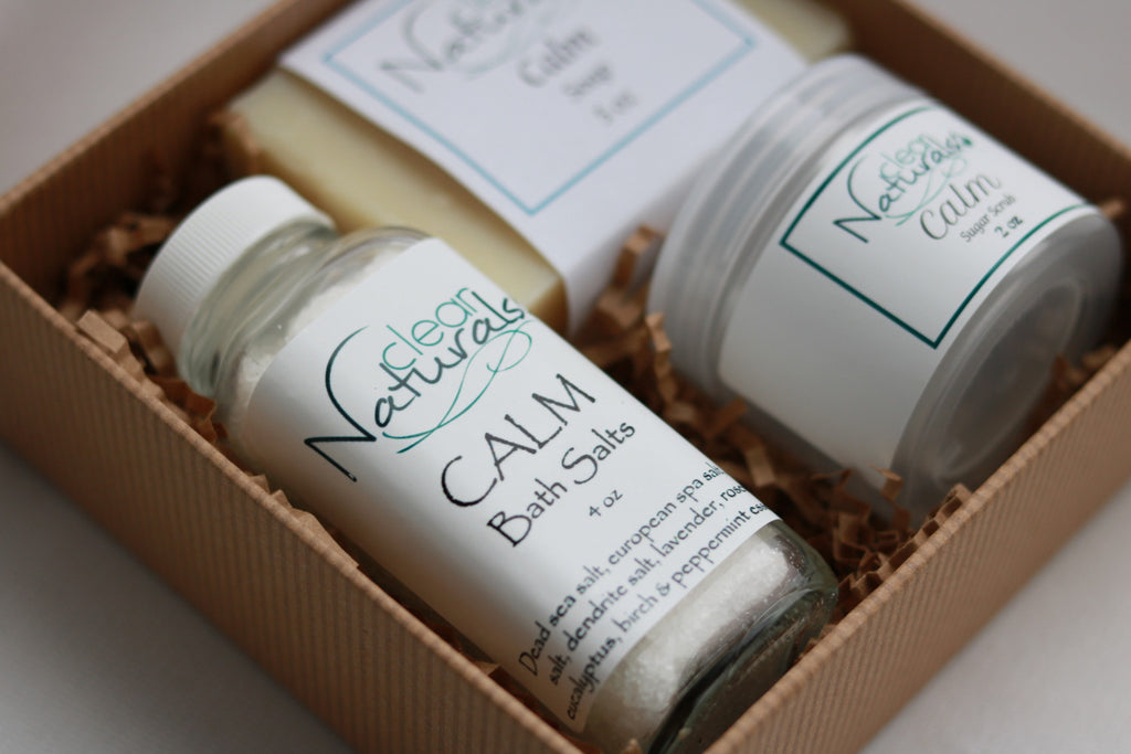 Spa Gift Set, Gift for Her, Gift for Mom - Clear Naturals - 4