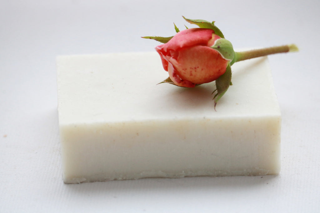 Rose Cardamom Soap Bar, No coconut oil, No Palm oil