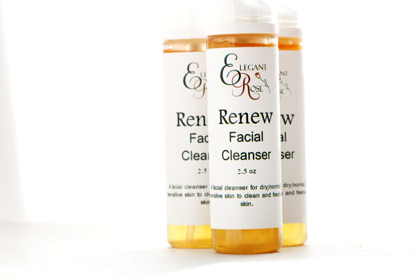 Renew Facial Cleanser - Mild Cleanser for Dry/Sensitive/ Normal Skin