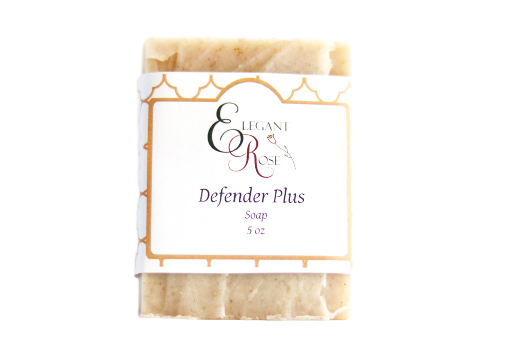 Defender PLUS Soap - Natural Handmade Soap - Anti-bacterial Soap - Four Thieves Soap