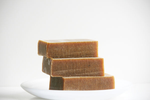 Spiced Pumpkin Handmade Soap Bar - Essential Oil Soap Bar - Natural Soap - Clear Naturals