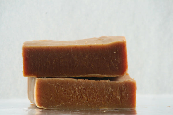 Sandalwood Tumeric Soap Bar, No coconut oil, No Palm oil, Babassu Soap - Clear Naturals