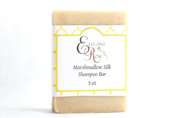 Marshmallow Silk Shampoo Bar