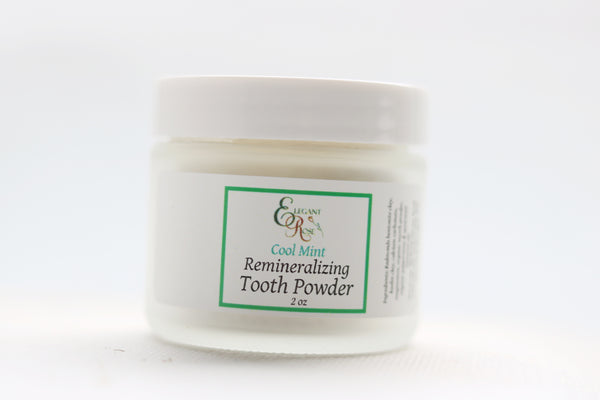 Tooth Powder, Natural Remineralizing Tooth Powder, Clay Toothpaste