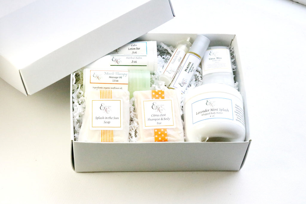Sunshine Gift Box - Get Well Gift, Hospital Stay Gift, Box of Sunshine, Thinking of You Gift