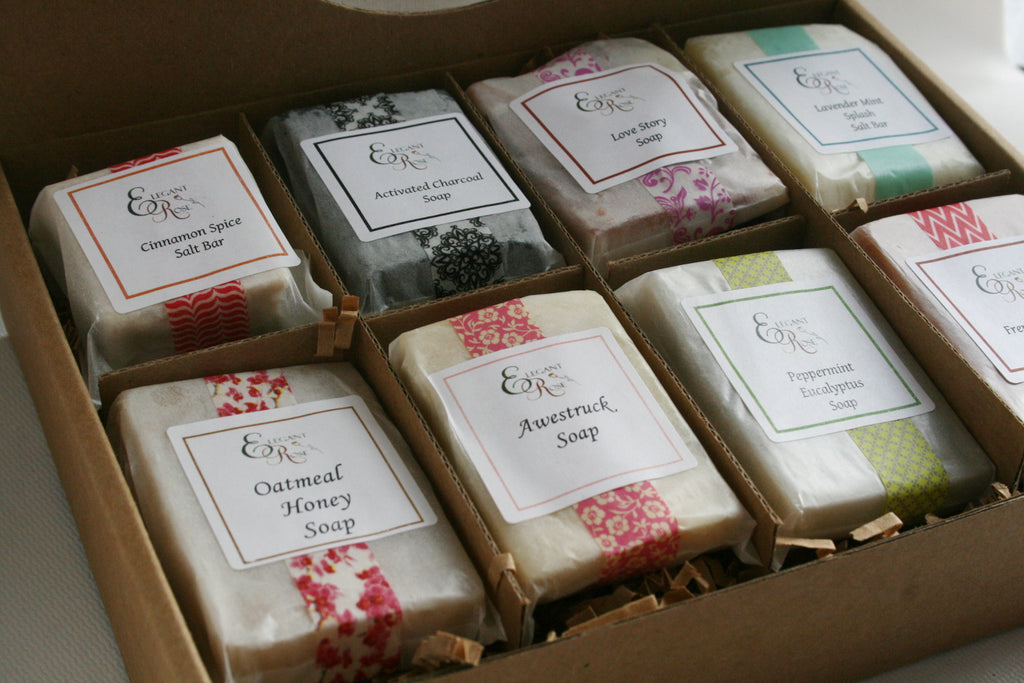 Soap Sampler Gift Set - Handmade soap| Natural Soap| Soap Gift for Her, Gift for Him, Mom Gift, Christmas Gift, Gift Idea