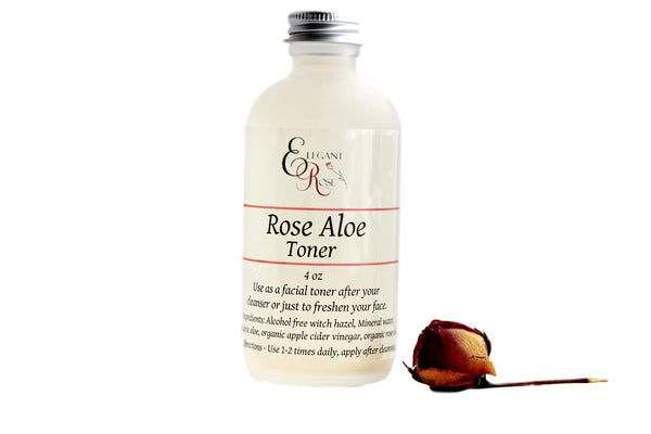 Rose Aloe Facial Toner -  Dry/Normal Skin Facial Toner