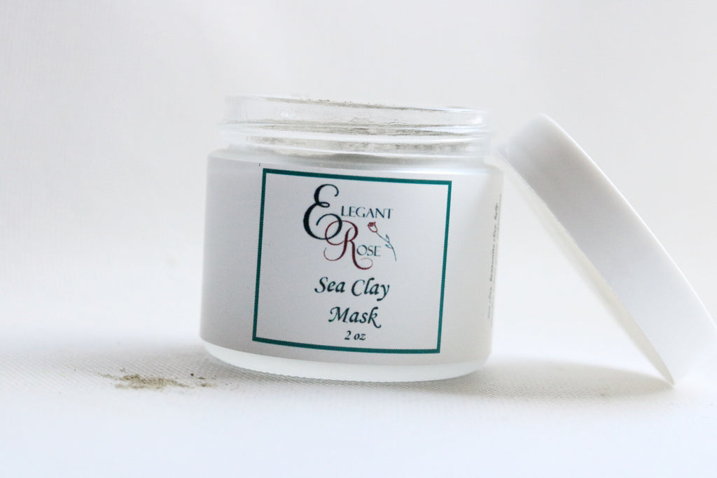 Sea Clay Facial Mask - 100% Natural Skin Care