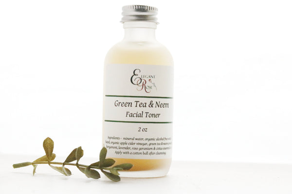 Green Tea & Neem Facial Toner -  for Oily/Acne Skin