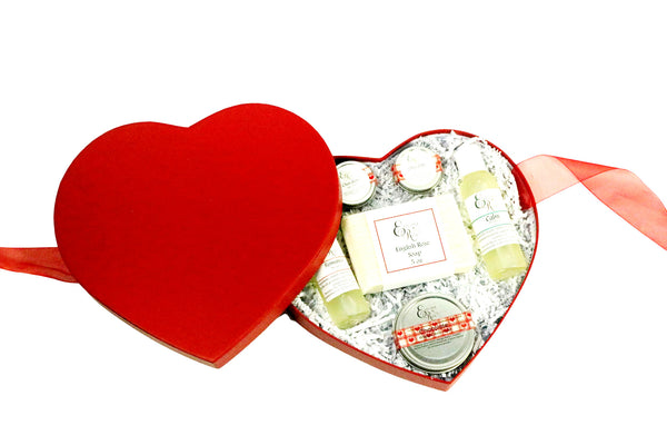 Valentine Spa Gift, Valentine Gift Set, Chocolates and Roses Gift