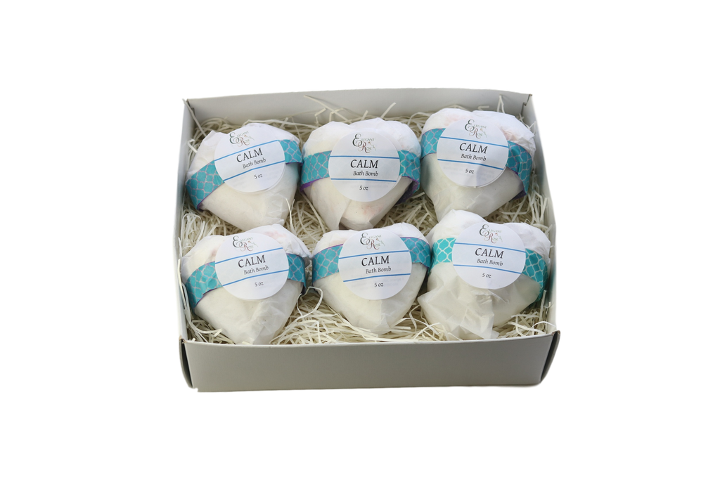 Valentine Gift, Bath Bombs, Bath Bomb Gift - Set of 6 Bath Bombs