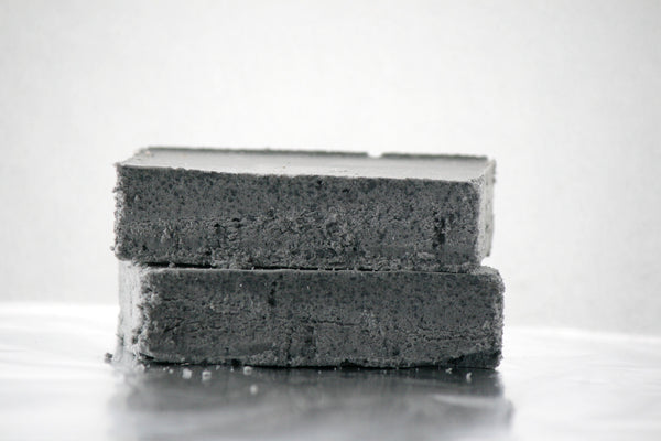 Black Lava Salt Soap - Babassu Salt Bar - Essential Oil Soap - Clear Naturals