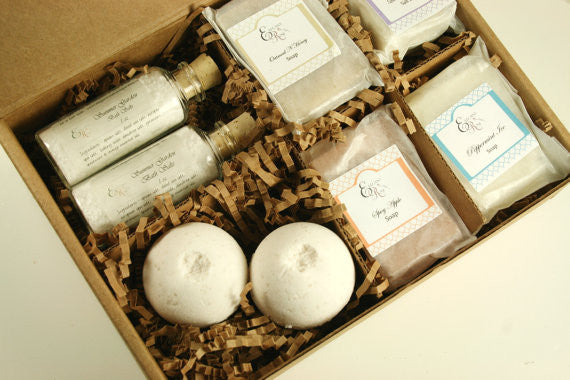 Pampering Bath Gift Set - Clear Naturals - 1