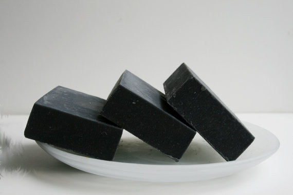 Unscented Activated Charcoal Soap - Clear Naturals