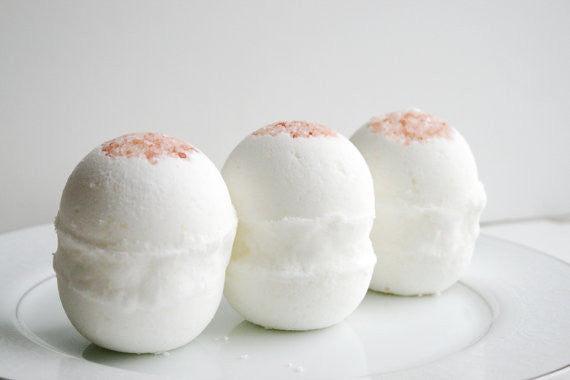 Serenity Spa Bath Bombs - Set of 3 - Clear Naturals